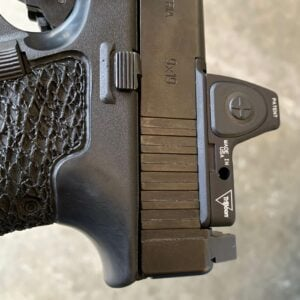 C&H Precision Weapon Systems V4 MIL/LEO mounting plate for GLOCK MOS.