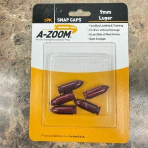 A-Zoom Precision Pistol Snap Caps, 9mm Luger