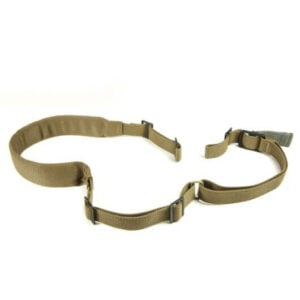 Blue Force Gear Vickers padded 2 point sling, Coyote Brown, Nylon hardware