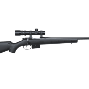CZ 527 American 223 Rem Black Bolt Action 5 Round Rifle, suppressor-ready.